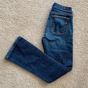 Citizens of Humanity Kelly Low Waist Bootcut Sz 24
